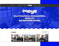 Logo and website design for MEGE