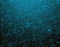 Sports Pattern Illustrations