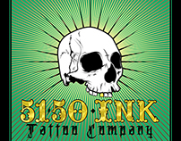 5150 Ink Tattoo Company Flyer