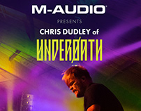Chris Dudley for M-Audio