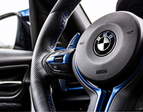 BMW interior photoshoot