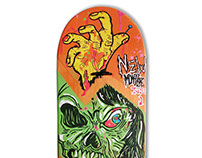 Skate Art @matdisseny • Back From Dead