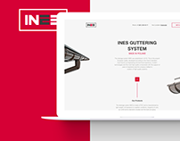 Landing Page for INES Drainage System