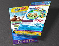 E-mail marketing / flyer - parque aquático