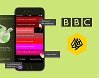 "BBC ""Top"" interface concept for D&AD 2015"