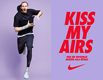 NIKE KISS MY AIRS RETOUCH WORKS