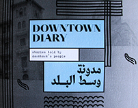 Downtown Diary - Editorial Design