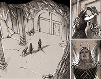 Inanna - WIP graphic novel