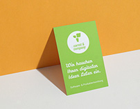carrot & company business cards