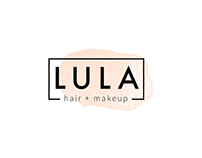 LULA hair + makeup Branding