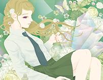 From flower to flower 花から花へ