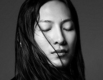 Alexander Wang's portrait for Dsection Magazine