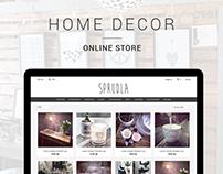 Sprudla | Ecommerce responsive design