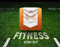 Free Fitness Icon Set