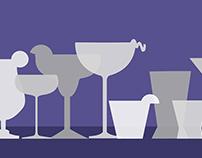 Cocktail Recipe Illustrations