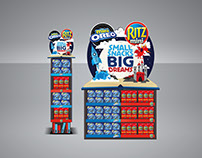 Ritz / Oreo Small Snacks Big Dreams POS