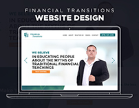 Website Design - Financial Transitions