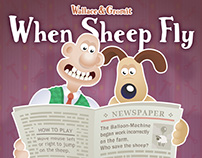 Wallace & Gromit - When Sheep Fly