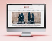Diseño de página web Wordpress Col·lectiu AiDE