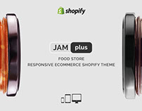 Jam Plus – Food Store Responsive eCommerce Shopify Them