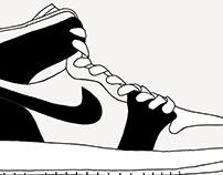 Sketching Sneakers