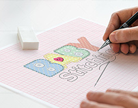 Baby Stitching logo design