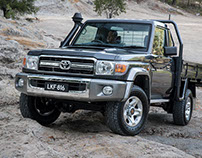 Toyota's Iconic 70-Series Land Cruiser Receives Updates