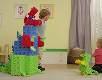 Waffle Blocks- Promotional Builds for Little Tikes