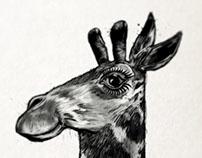 Giraffe Number 1: Work in progress