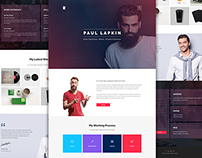 Personal Site | Free PSD