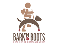 Bark'n Boots - Logo Design