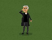José Mourinho / Pixel Art