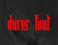 Dürer Font