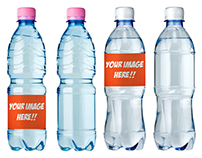 Soda Bottle Mock-up