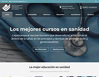 Sitio Web Instituto Sanidad Mendoza