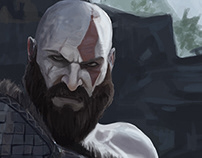God of War | Digital Painting