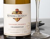Kendall-Jackson Vintner's Reserve Packaging/Logo Design