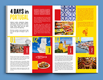 Travel Itinerary | Editorial layout