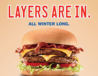 Sonic Drive-In Winter Campaign
