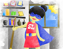 [Illustration] Super Labandera