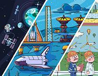CHEVOSTIK.RU Interactive encyclopedia for kids