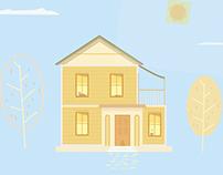 Building a House (animation)