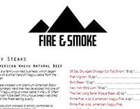 Fire & Smoke Menu
