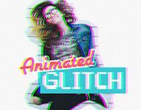 Free Animated Glitch Photoshop Action