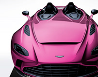 2020 Aston Martin V12 Speedster Deep Pink