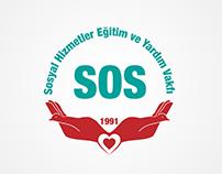 SOS Logo Design