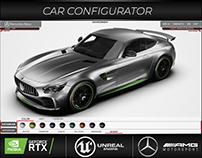 UE4 Configurator Mercedes GTR