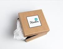 """Diseño de marca y packing """"Kendra"""""""