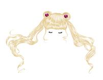 Meatballs head - Sailor Moon