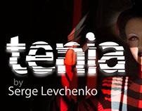 Typography, retouching: TENIA